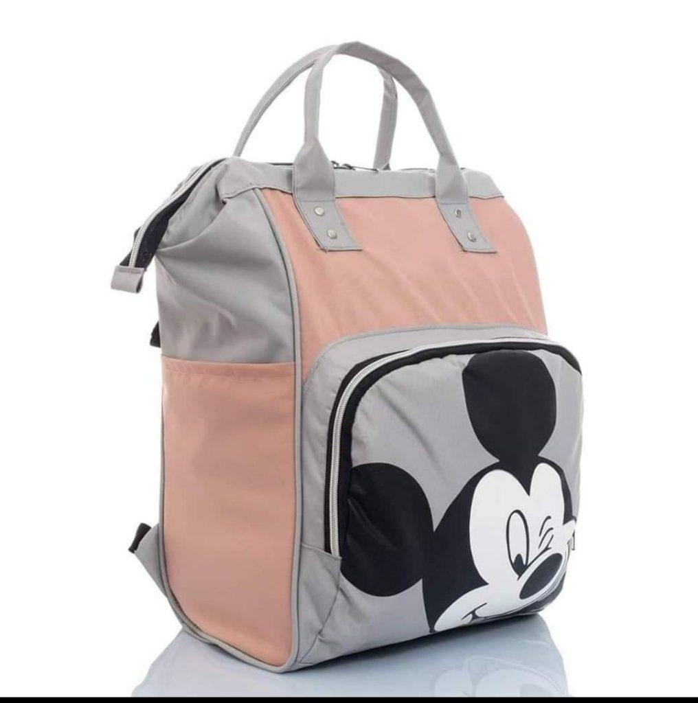 Τσάντα μωρού πλάτης - Ροζ Micky TP-1755